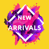 New arrivals web baners. Royalty Free Stock Image