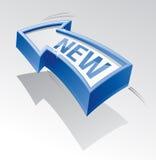 New arrow. Royalty Free Stock Image