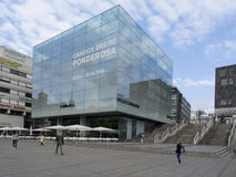 New art museum in Schlossplatz, Stuttgart Royalty Free Stock Image
