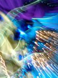 New Art Photography 103. This photo is a result of a newly created photographic art form invented by myself. Electric, energetic, dynamic, colorful and eye royalty free stock photo