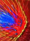 New Art Photography 105. Red hot, explosive, energetic, dynamic, unique, colorful and exciting might describe this photo resulting from my newly invented Royalty Free Stock Photo