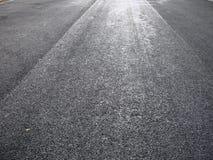 New asphalt royalty free stock photography