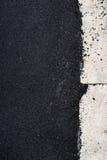 New asphalt concrete near the concrete kerb Stock Photos