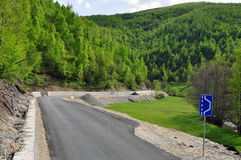 New asphalt road Stock Photo