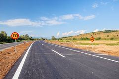 New asphalt road Royalty Free Stock Photos