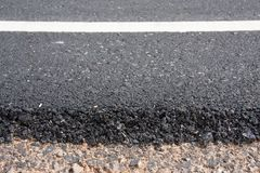 New asphalt road Stock Images