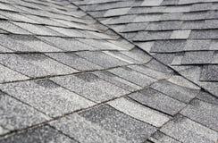 New Asphalt roof Stock Photography
