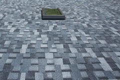 New Asphalt Roofing Shingles Background Stock Photography