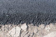 New asphalt texture Royalty Free Stock Photography