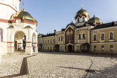 New Athos monastery of St. Simon the Canaanite monastery. Stock Image