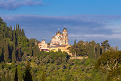 New Athos Monastery Stock Photos