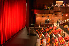 New Auckland waterfront theatre's official opening Royalty Free Stock Photography