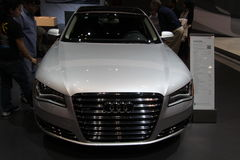 New Audi A8L Royalty Free Stock Images