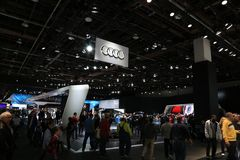 New 2018 Audi on Display at the North American International Auto Show Royalty Free Stock Images