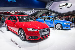 New Audi A4 at the IAA 2015 Stock Photos