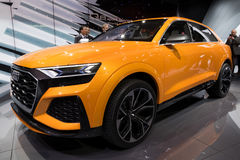 New Audi Q8 suv car Stock Photo