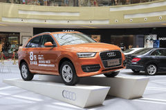 New audi q3 Stock Image