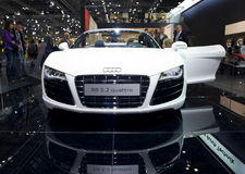 New Audi R8 quattro, Spyder, sports car Royalty Free Stock Photos