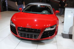 New Audi R8 Spyder Royalty Free Stock Photography