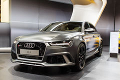 New Audi RS 6 Stock Photography