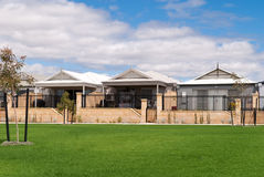 New Australian houses in a modern suburb Stock Photography
