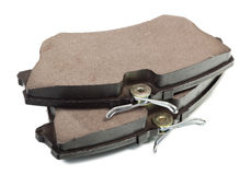 New auto brake pads Royalty Free Stock Image