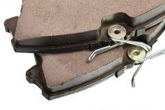 New auto brake pads Stock Photos