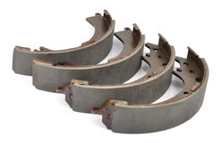 New auto brake pads Stock Photos