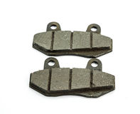 New auto brake pads Royalty Free Stock Image