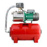 New Automatic water pump Royalty Free Stock Photography