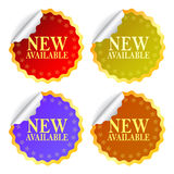 New available now Royalty Free Stock Photography
