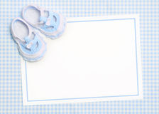 New baby announcement royalty free illustration