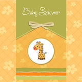 New baby announcement card Stock Photos