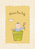 New baby arrived Royalty Free Stock Image