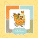New baby arrived royalty free illustration