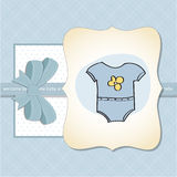 New baby boy arrived Royalty Free Stock Photo