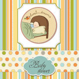 New baby boy arrived Royalty Free Stock Photography