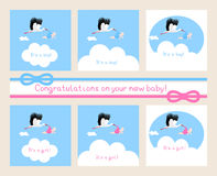 New baby. Congratulations on your new baby Stock Photo