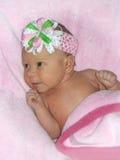 New baby girl Stock Photo