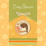 New baby girl arrived. New cute baby girl arrived Stock Photos