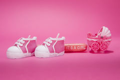 New Baby Girl Royalty Free Stock Photography