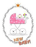 New baby girl Stock Photos