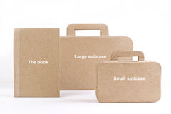 New bags and books Stock Photos