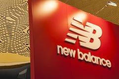 New balance. Advertising new balance runnig shouse Stock Image