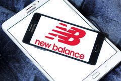 New balance logo Stock Photos