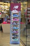 New Balance shoe store Stock Photos