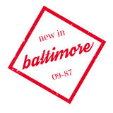New In Baltimore rubber stamp Royalty Free Stock Photos