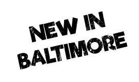 New In Baltimore rubber stamp Stock Photography