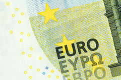 New banknote of five euros. Stock Images