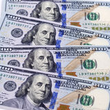 New banknote hundred dollars Royalty Free Stock Photography